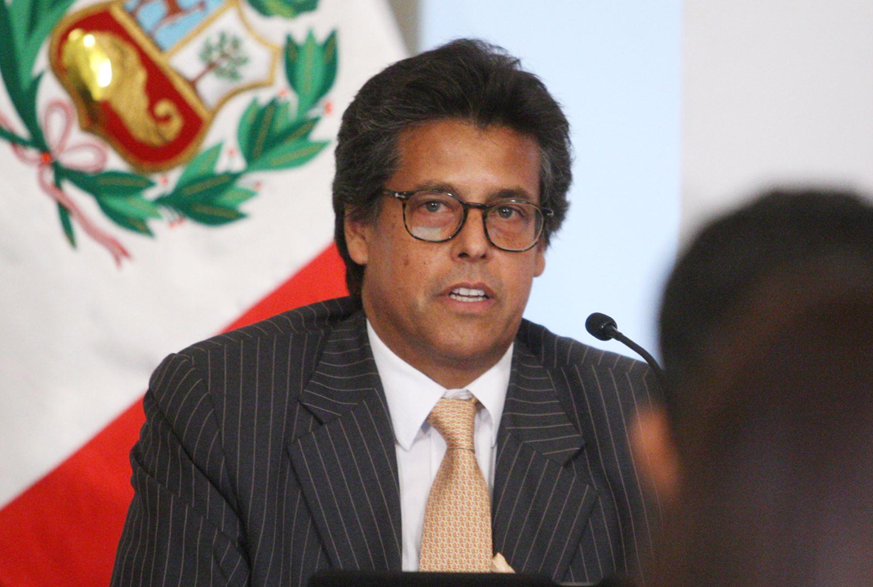 Director Ejecutivo de ProInversión, Álvaro Quijandría. ANDINA/Melina Mejía