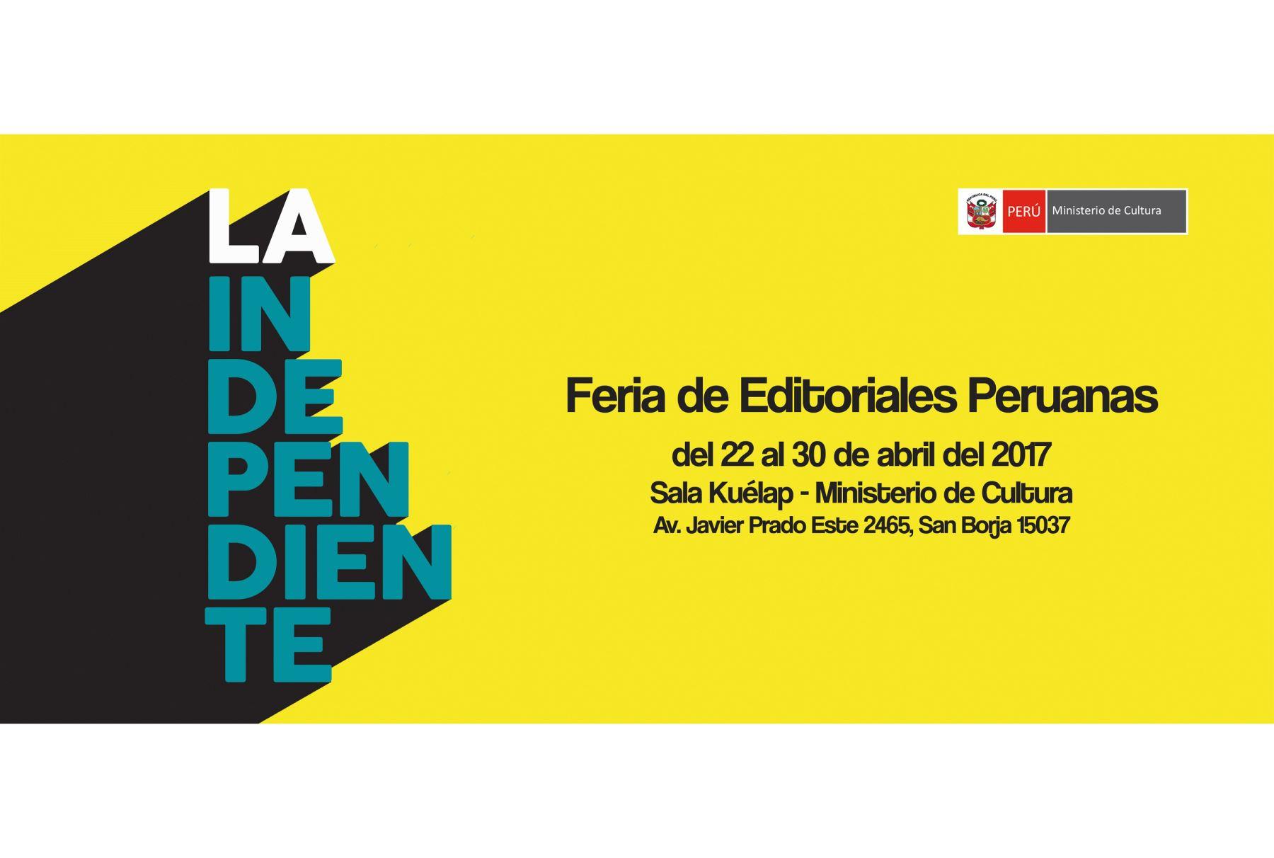 Ministerio de Cultura promocionará la labor editorial independiente peruana