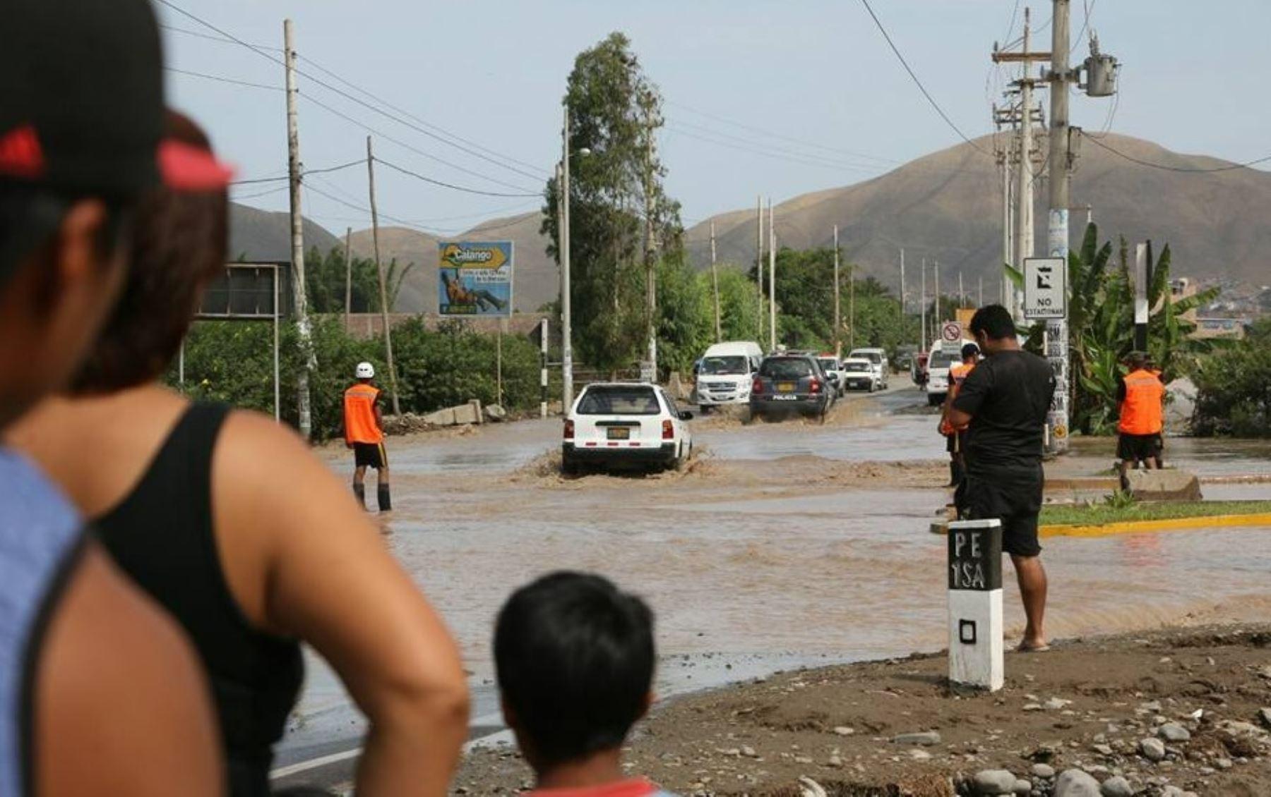 El epicentro del sismo se ubicó cerca de la localidad de Mala, en la provincia de Cañete. ANDINA/Difusión
