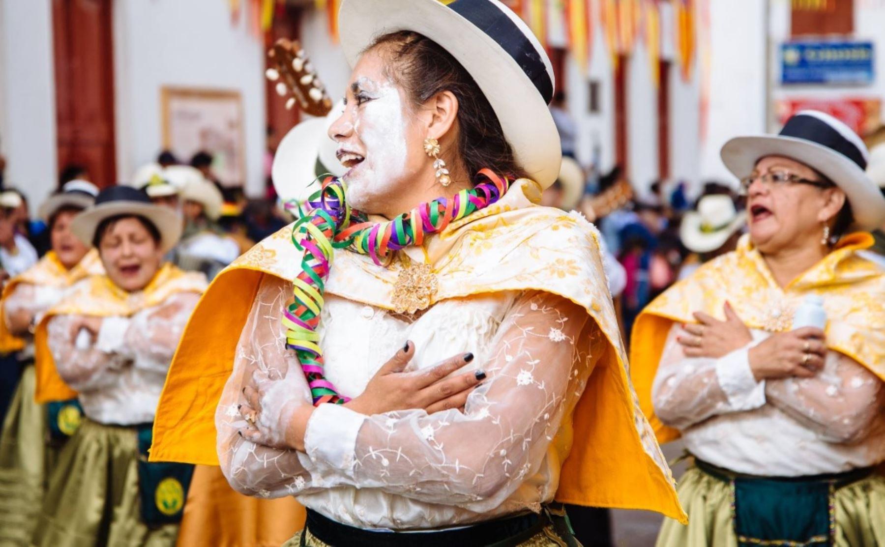 Andahuaylas listo para celebrar el Carnaval Originario-Pukllay. ANDINA/Difusión
