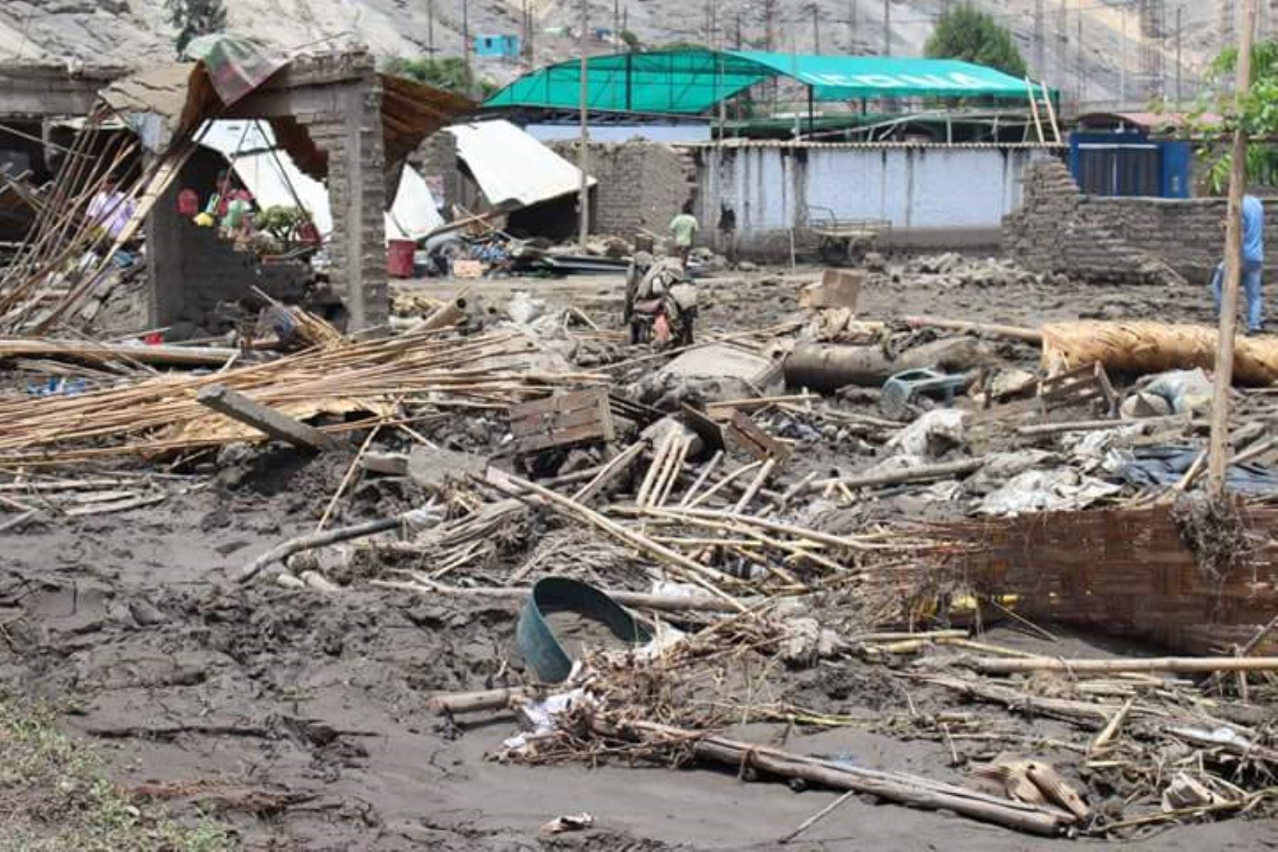 Se beneficiarán damnificados con viviendas colapsadas o inhabitables debido a lluvias y peligros asociados en zonas en emergencia. ANDINA