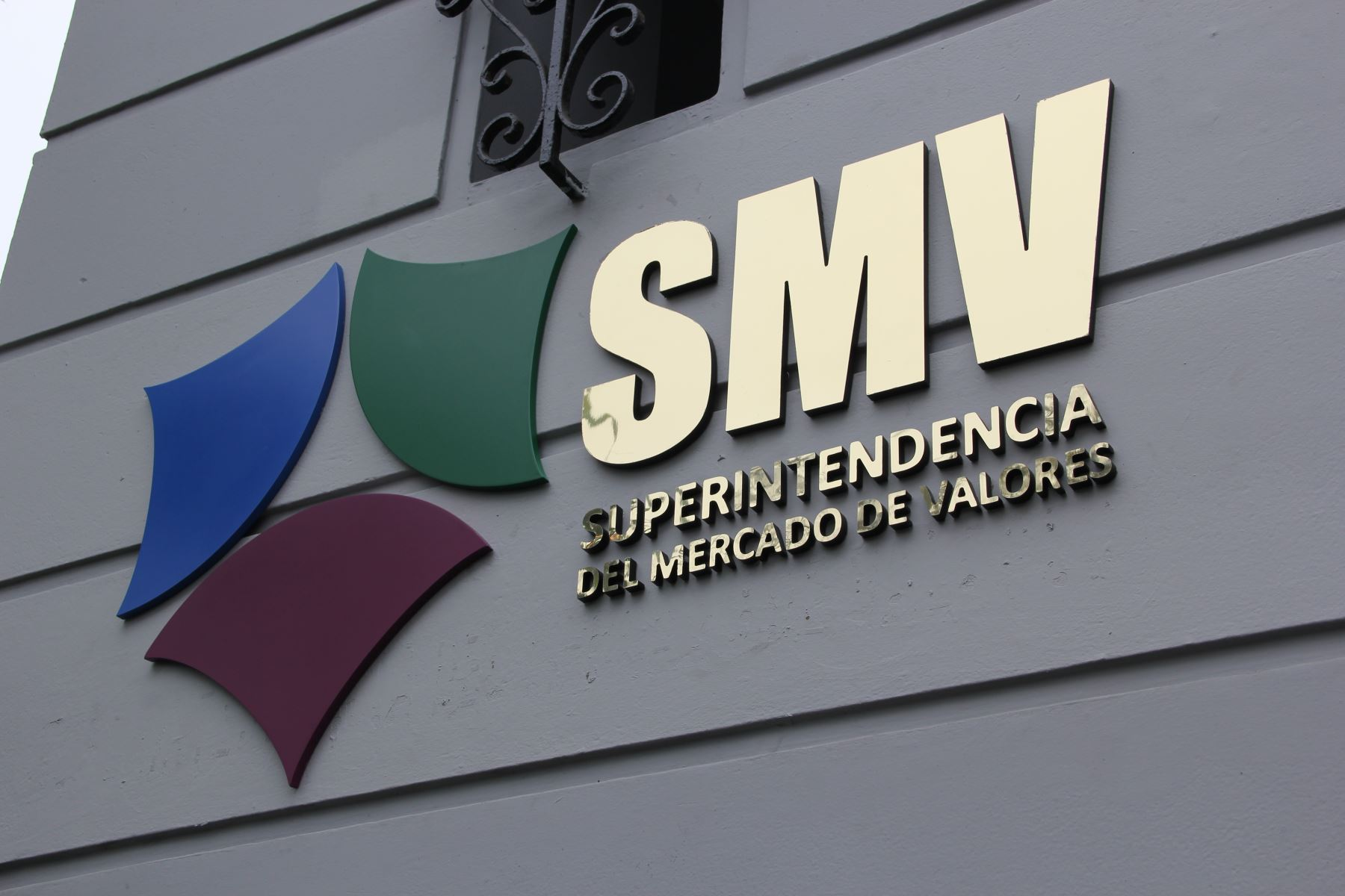 Superintendencia del Mercado de Valores (SMV). Foto: ANDINA/Difusión