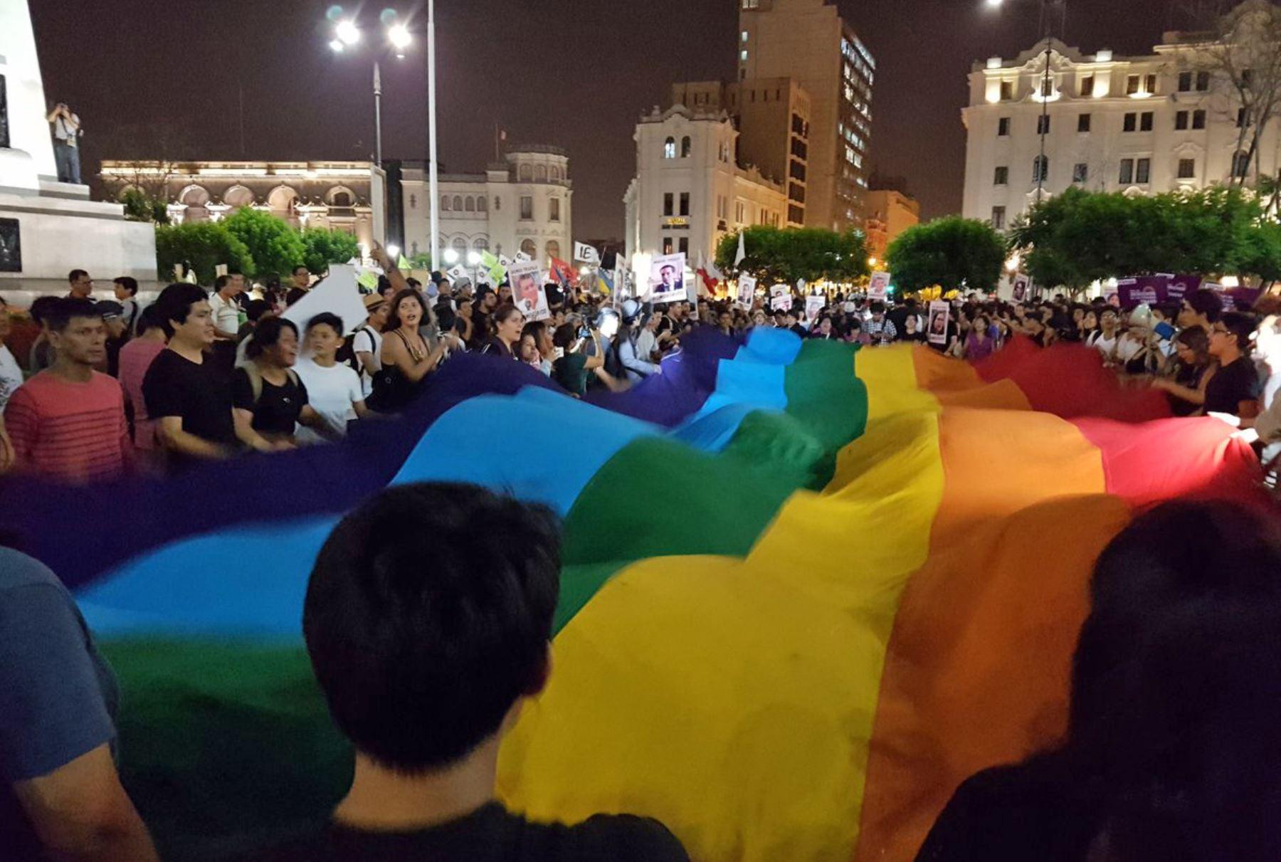 Movilización en Lima contra modificación de D. Leg. 1323.