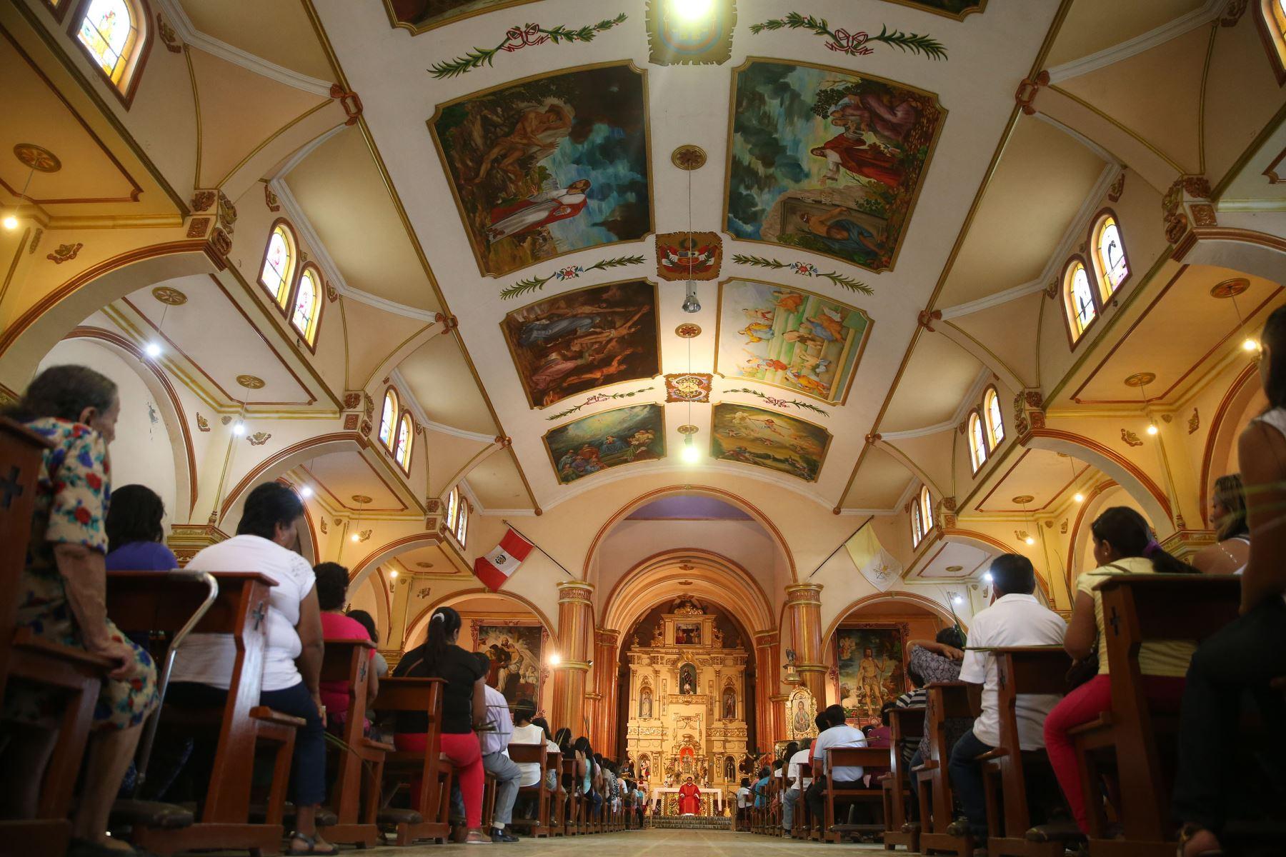 La Semana Santa de Catacaos es desde hoy Patrimonio Cultural de la Nación. ANDINA/Vidal Tarqui