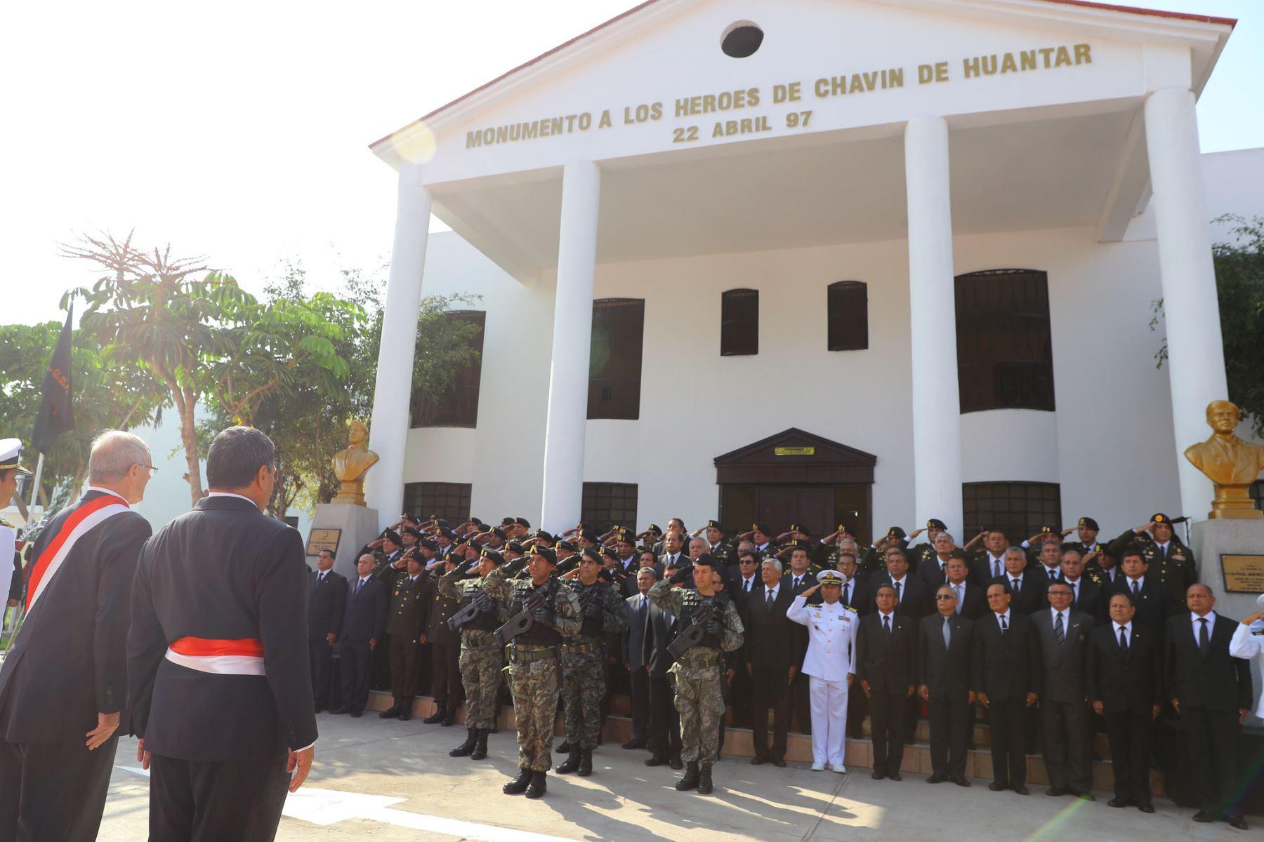 Comandos Chavín de Huántar.