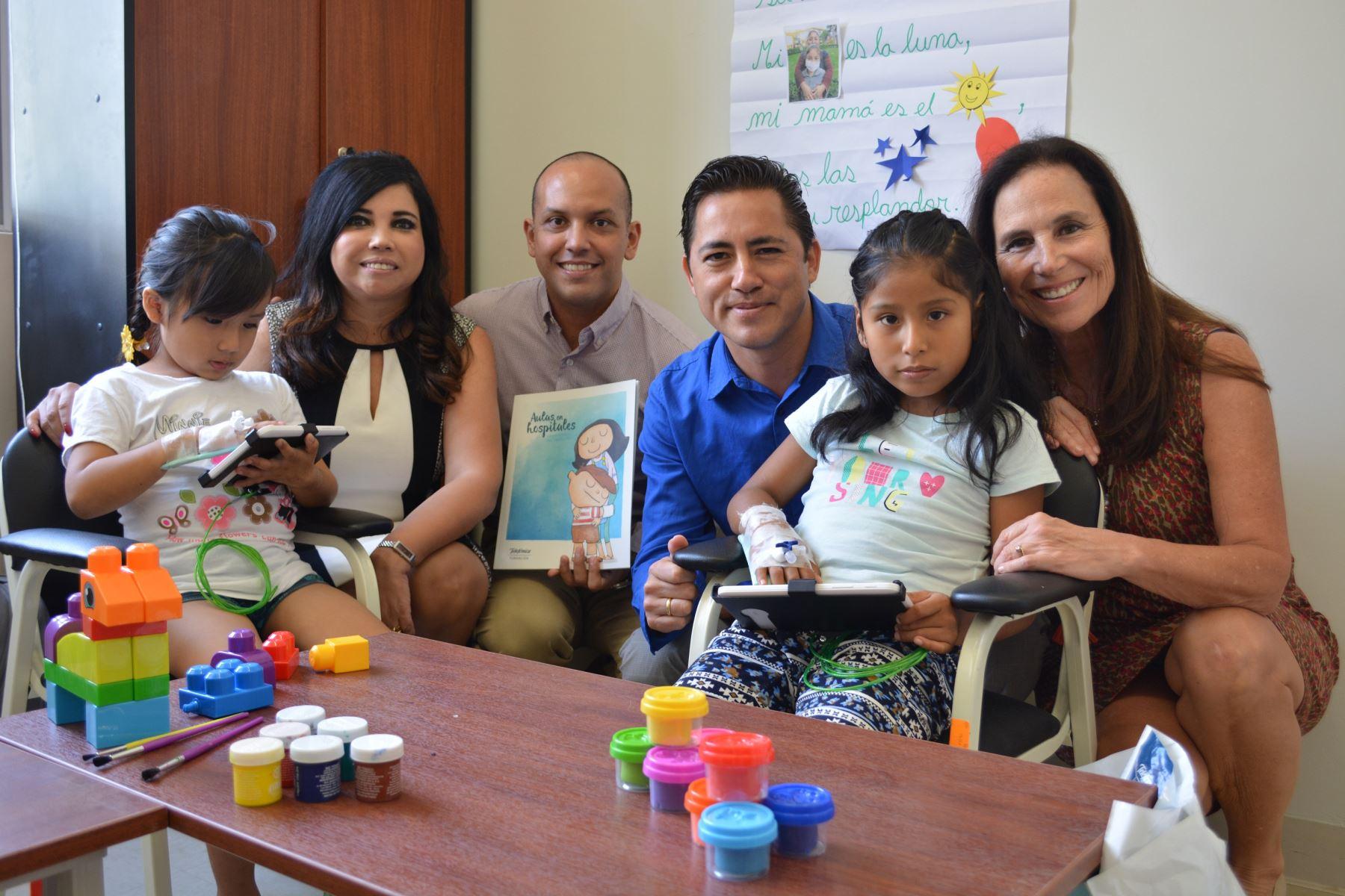 Niños de hospital Santa María de Ica recibirán educación en aulas hospitalarias.