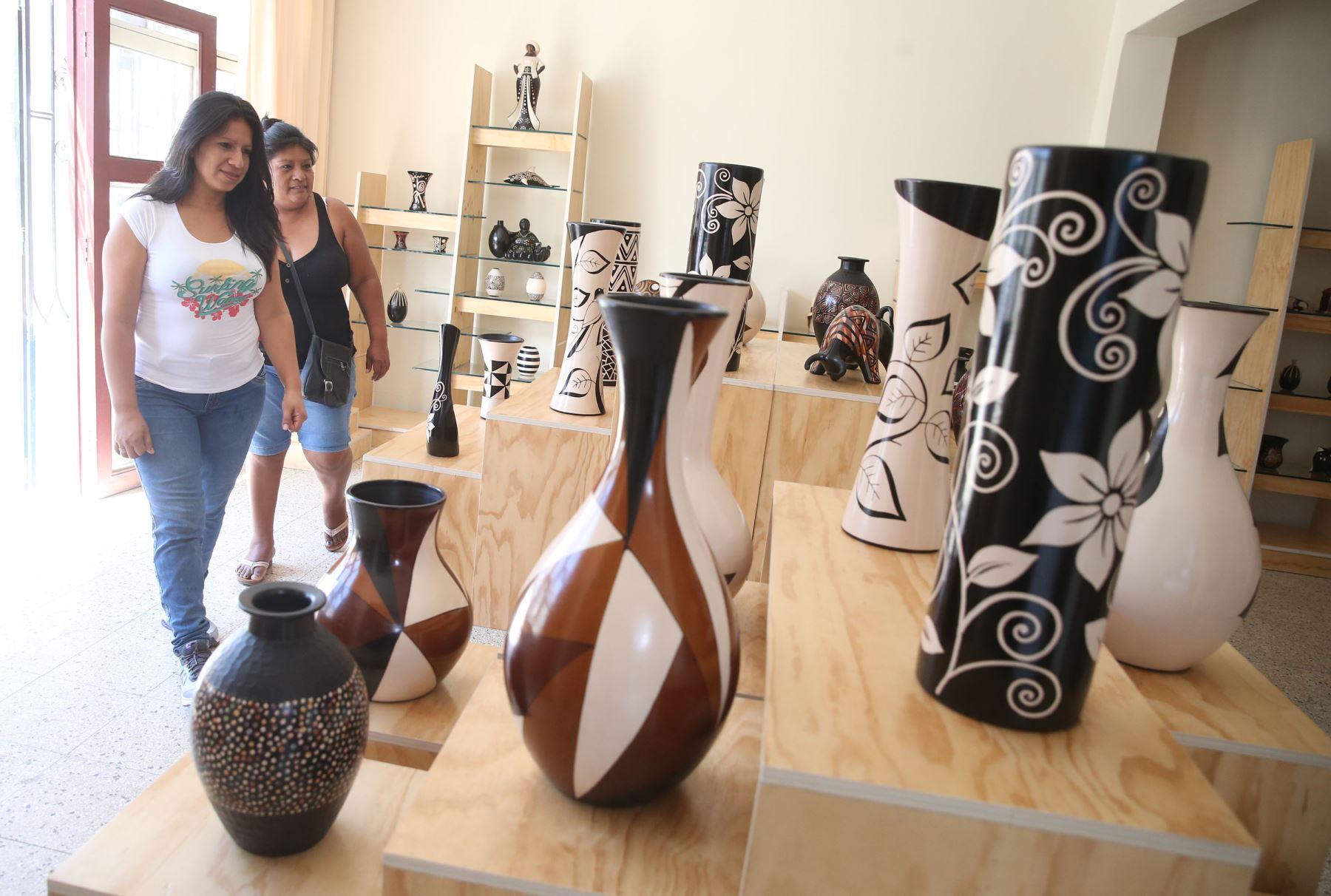 Artesanías de Catacaos, en la región Piura. ANDINA/Vidal Tarqui