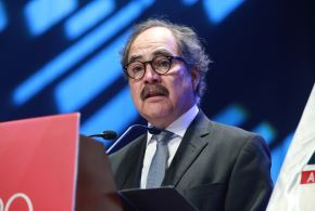 Presidente de Adex, Juan Varilias.ANDINA/Norman Córdova