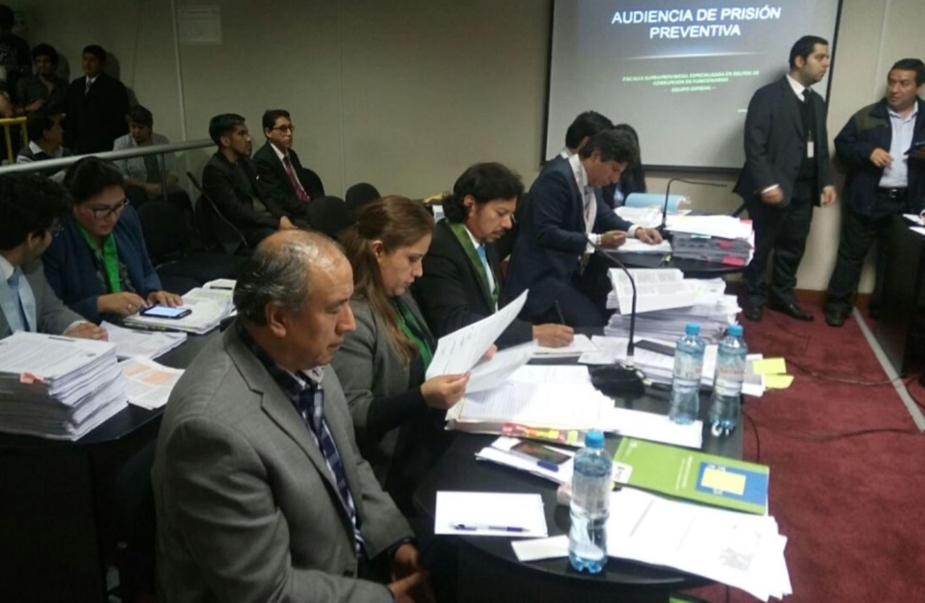 Jorge Acurio Tito, cumplirá 18 meses de prisión preventiva por caso Odebrecht.