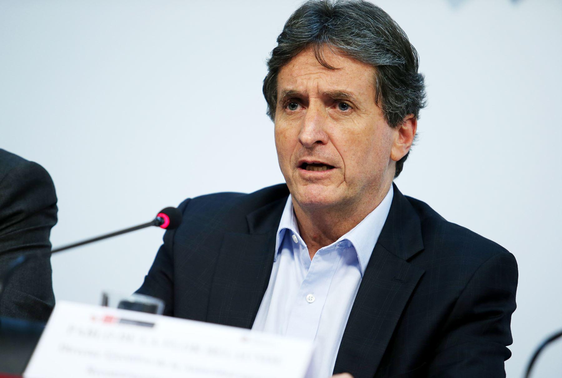 Pablo de la Flor, director ejecutivo de la Autoridad para la Reconstrucción con Cambios.Foto:  ANDINA/Melina Mejía