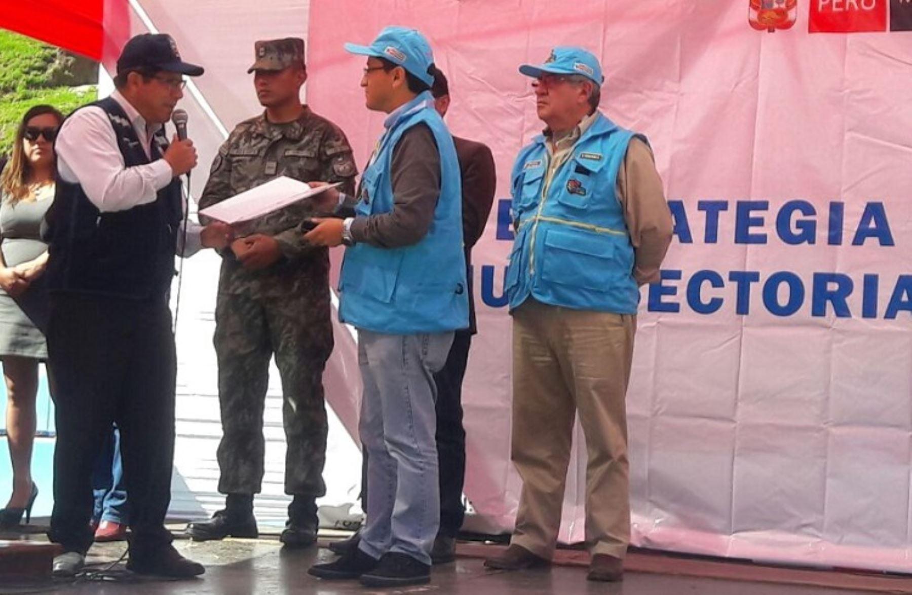 Barrio seguro estrategia multisectorial contra la for Donde esta el ministerio del interior
