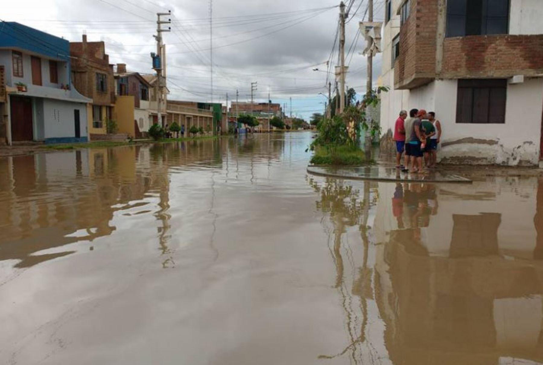 Chiclayo fue una de las ciudades más impactadas por las lluvias e inundaciones. ANDINA/Difusión