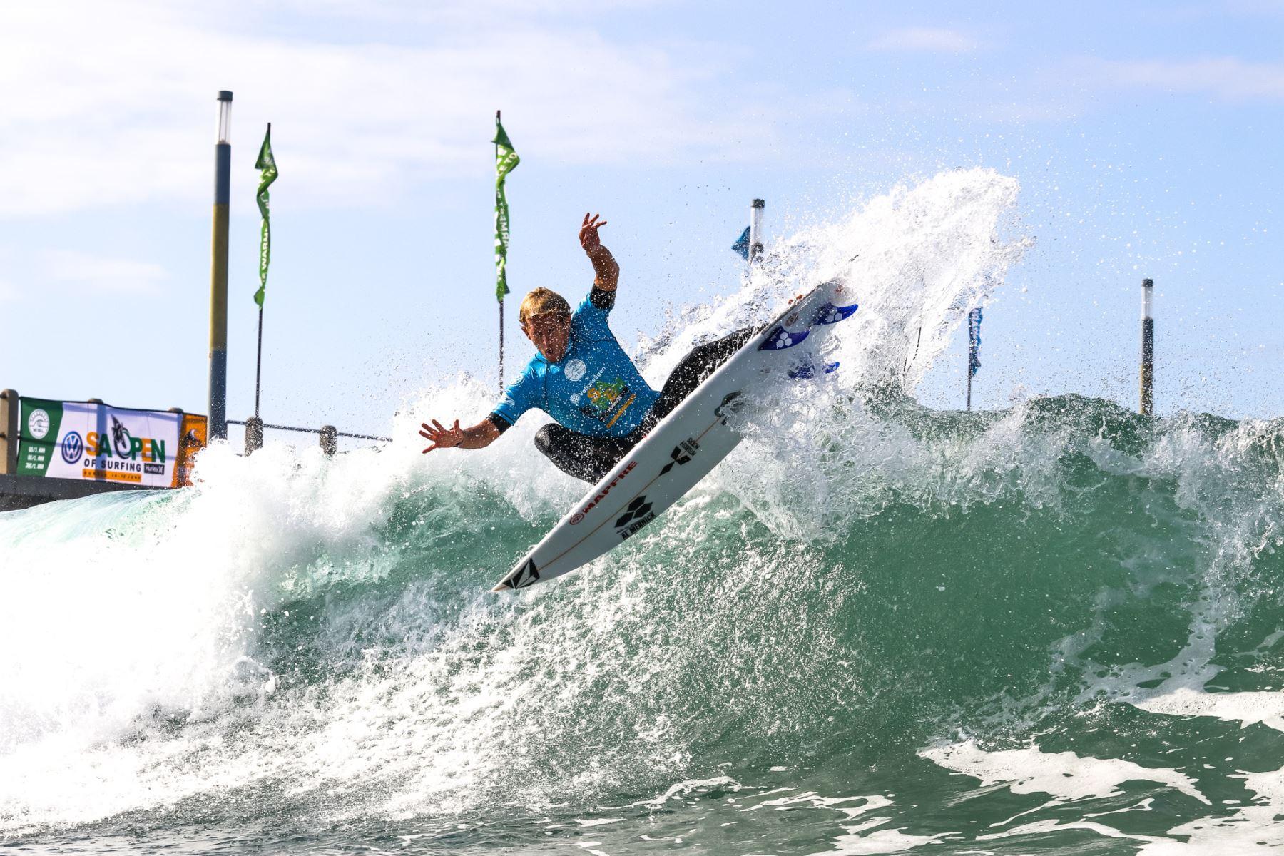Tudela se consolida como uno de los mejores surfistas de América Latina