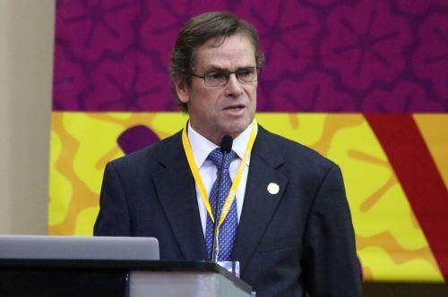Presidente de la Copal, Carlos Neuhaus. ANDINA/Jhony Laurente