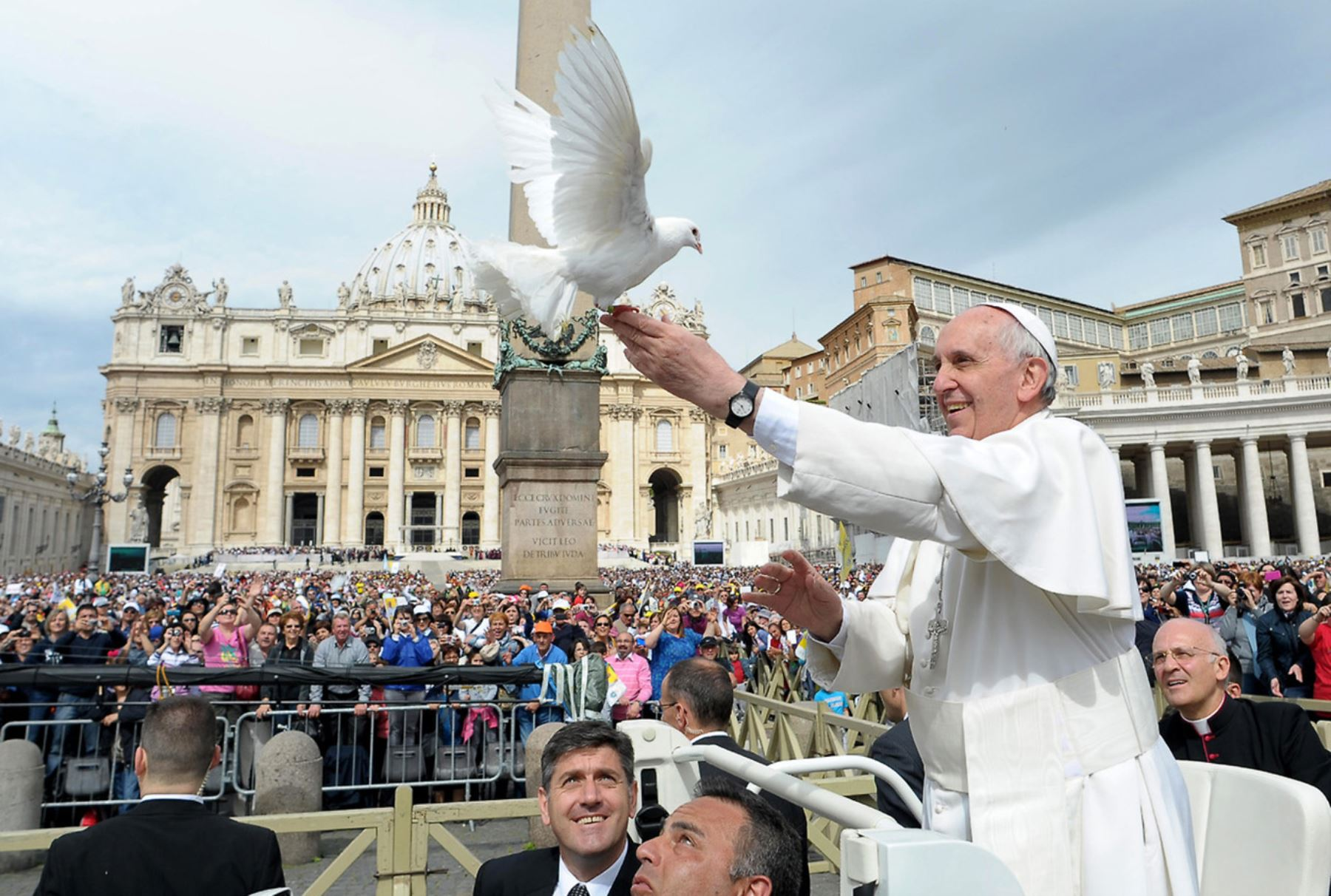 Papa Francisco visitará Trujillo. AFP