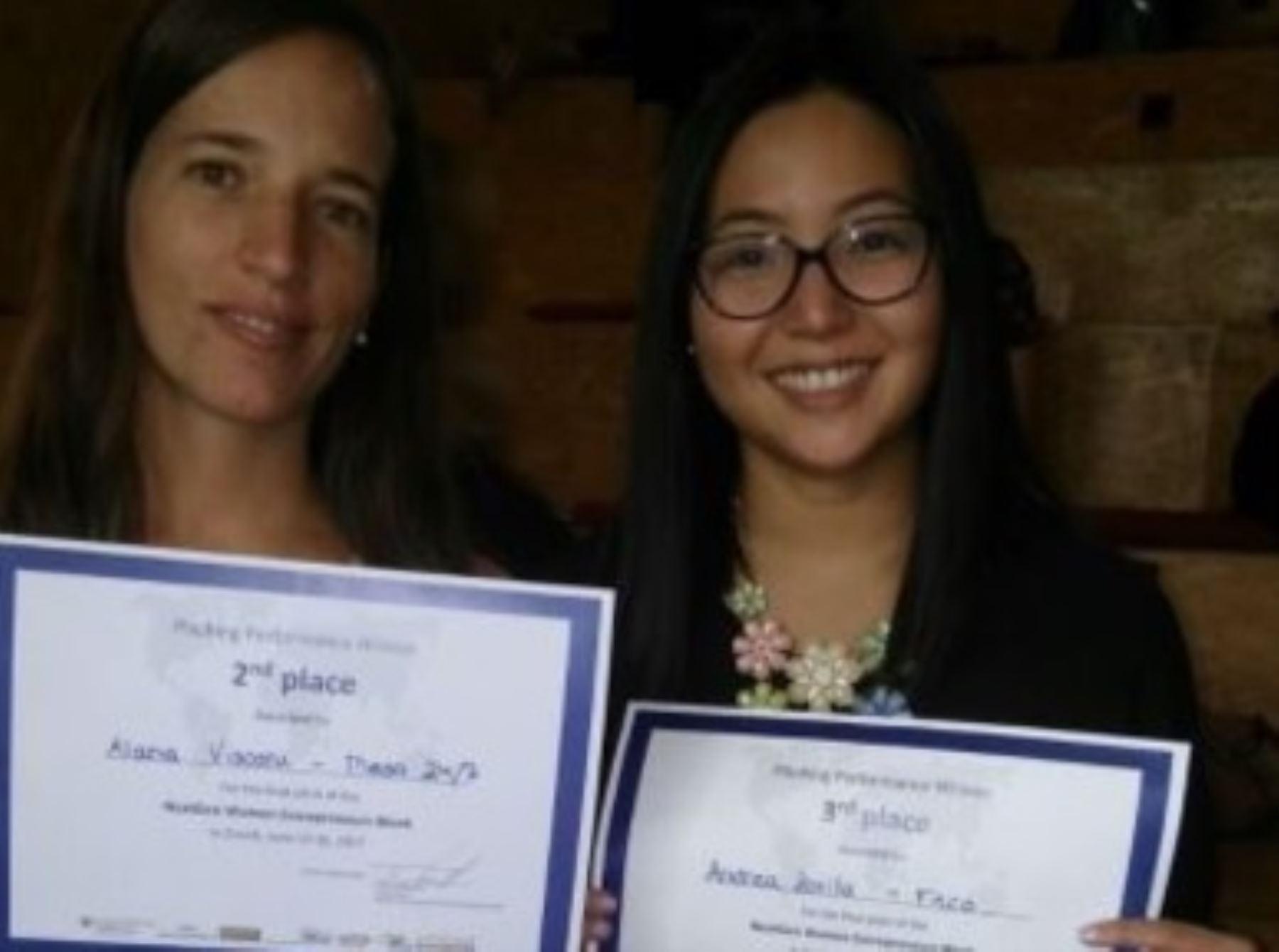 Peruanas tuvieron lugar destacable en concurso sobre emprendimiento. Foto: Difusión