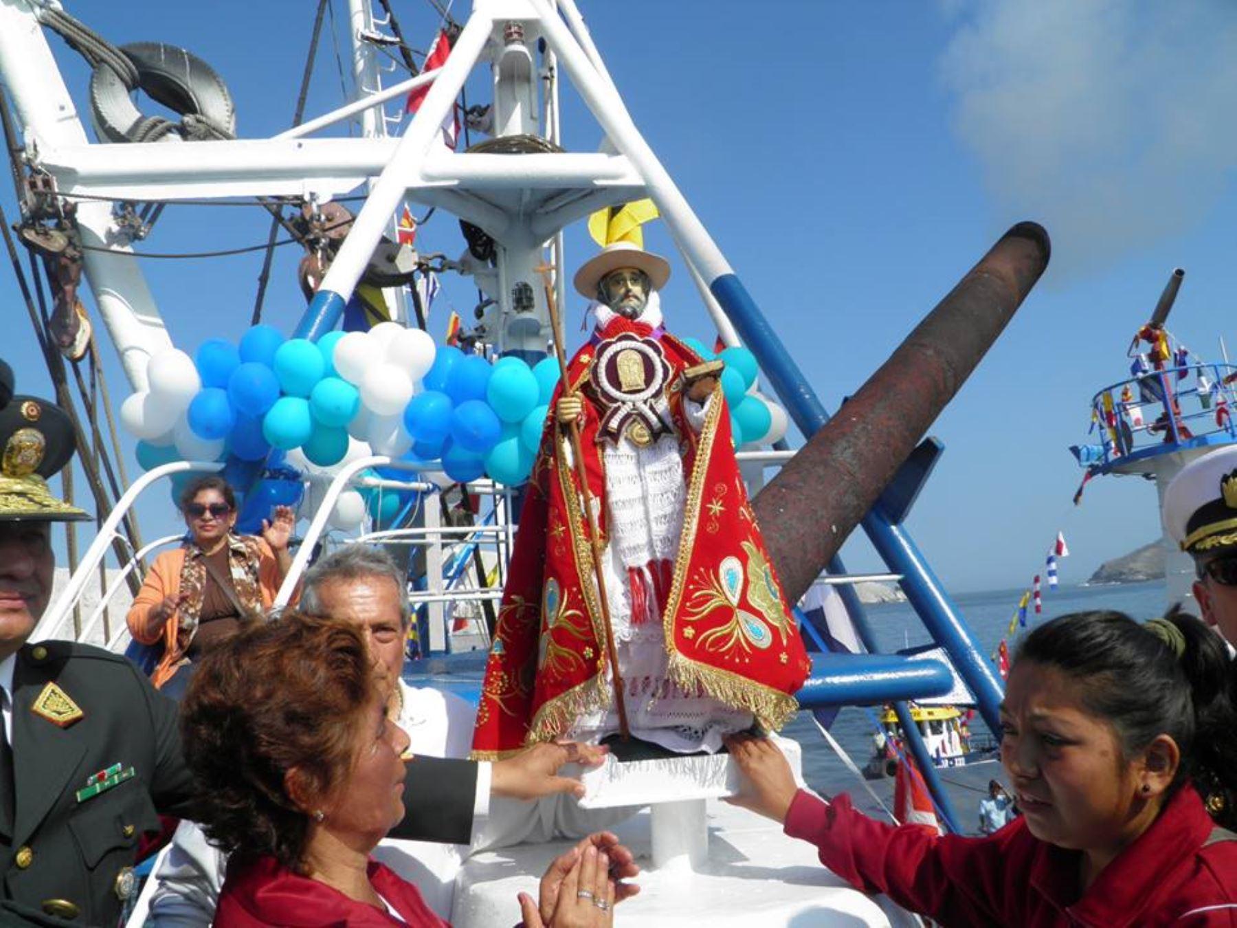 Declaran Patrimonio Cultural de la Nación a festividad de San Pedrito en Chimbote. ANDINA