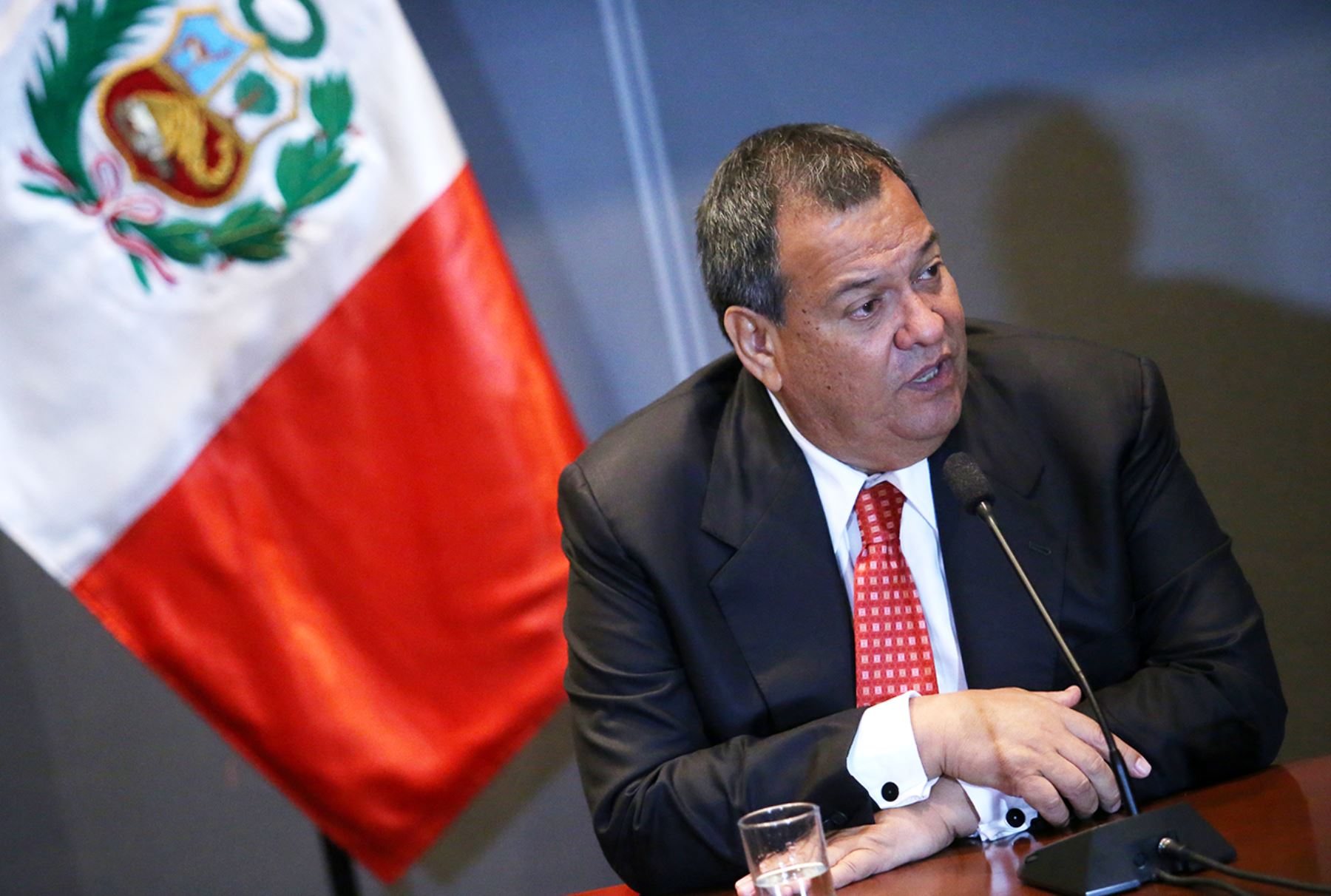 Ministro de Defensa, Jorge Nieto. Foto: ANDINA/Melina Mejía