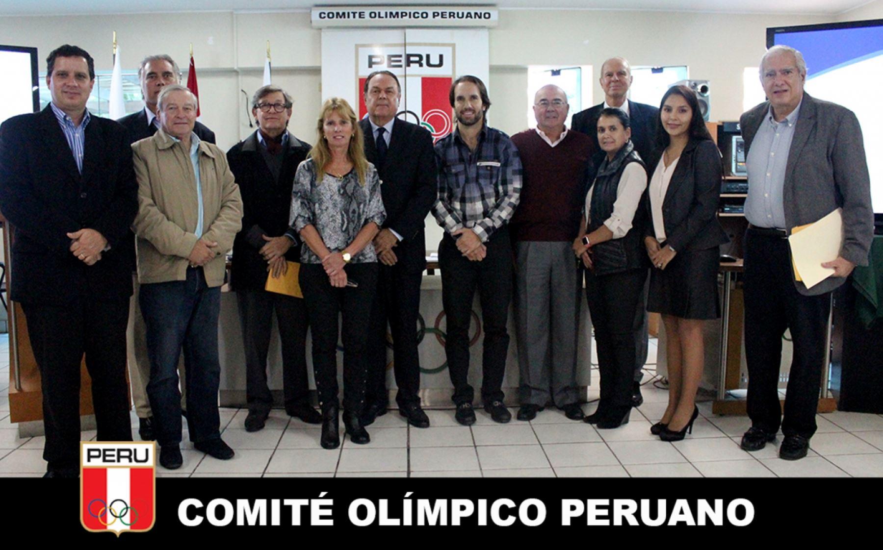 Se conformó a la nueva directiva del Comité Olímpico Peruano