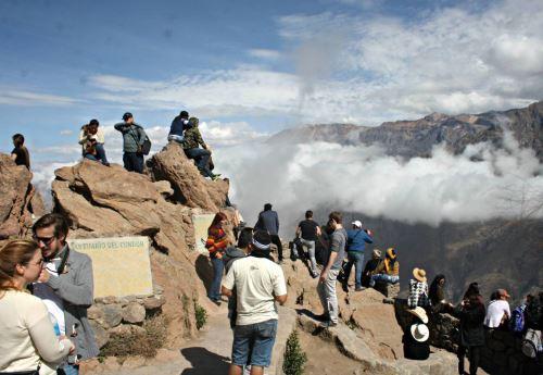 En el 2015 se incrementó el número de turistas que visitó el valle del Colca, en Arequipa: Cortesía: Camila Chávez Mazzei