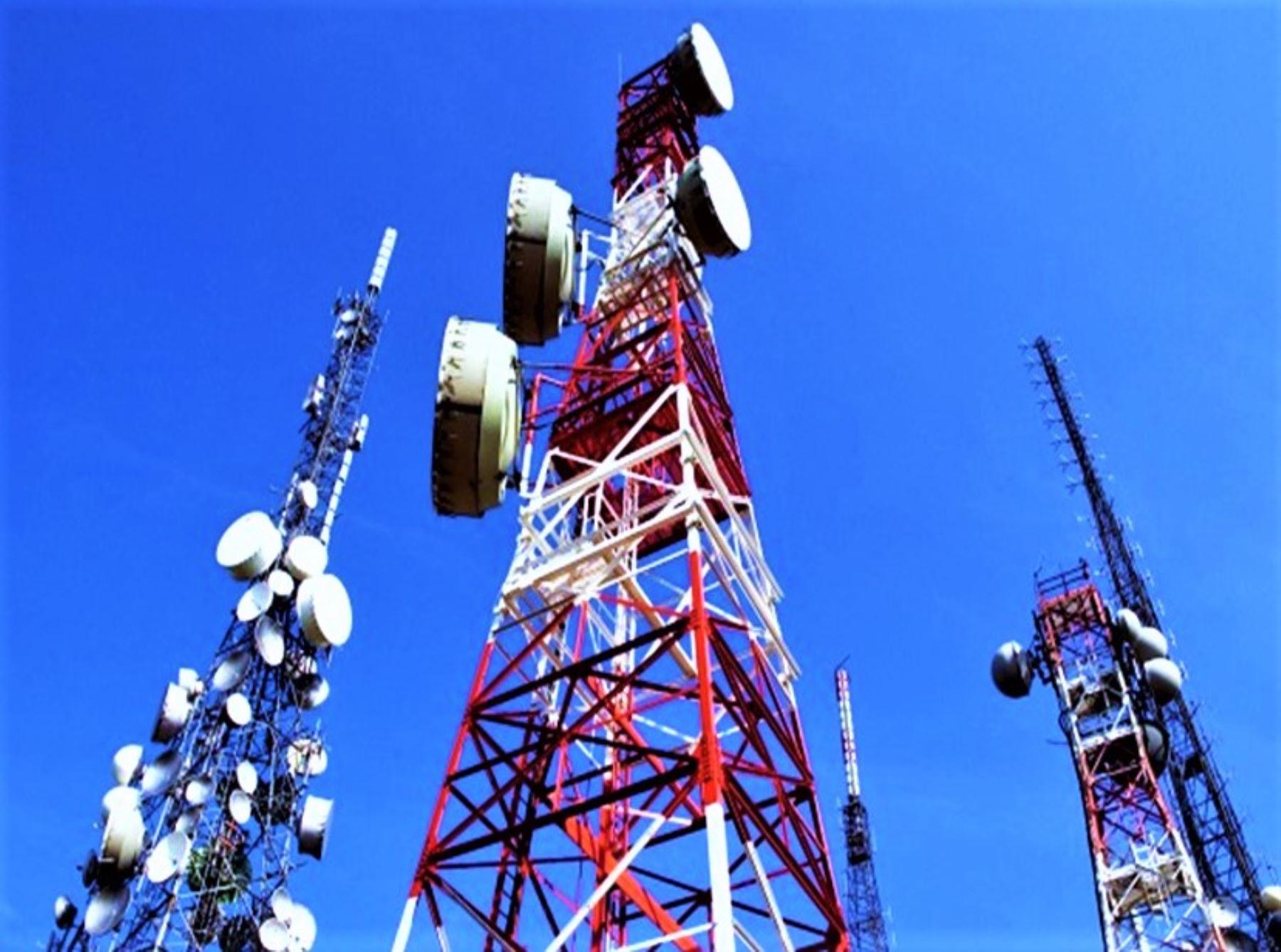 Reportan afectación de servicios de telefonía móvil e internet en Apurímac. ANDINA/Difusión