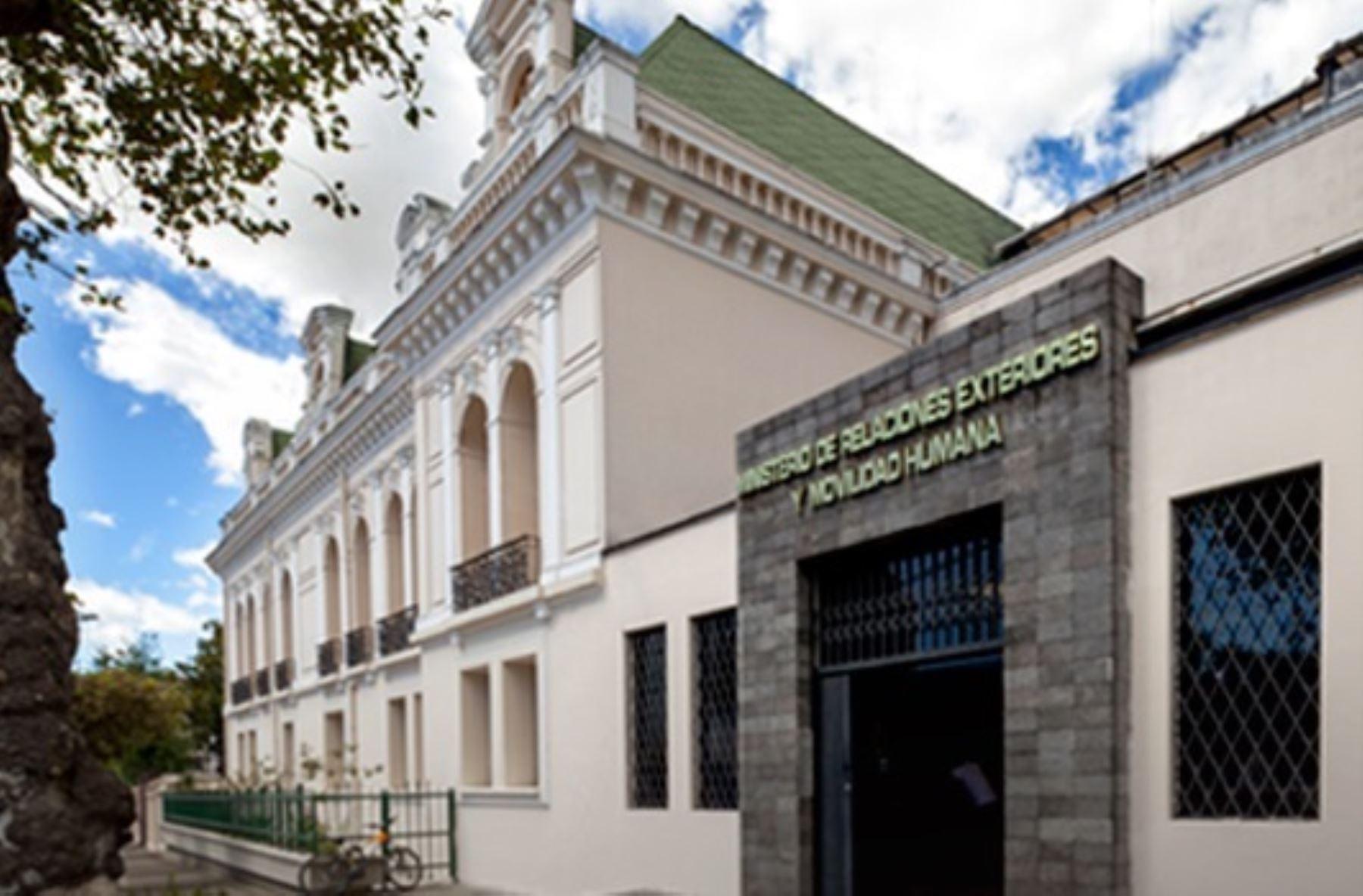 Ecuador Lamenta Llamado A Consulta De Embajador De Per Noticias Agencia Peruana De Noticias
