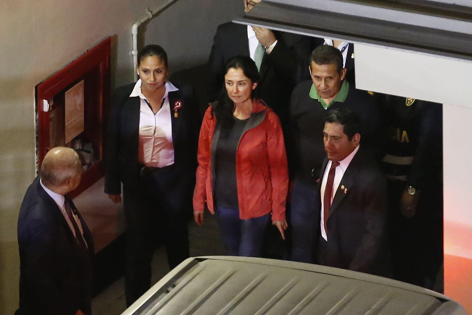 Juicio contra expresidente y su esposa se iniciaría en enero — Humala-Heredia