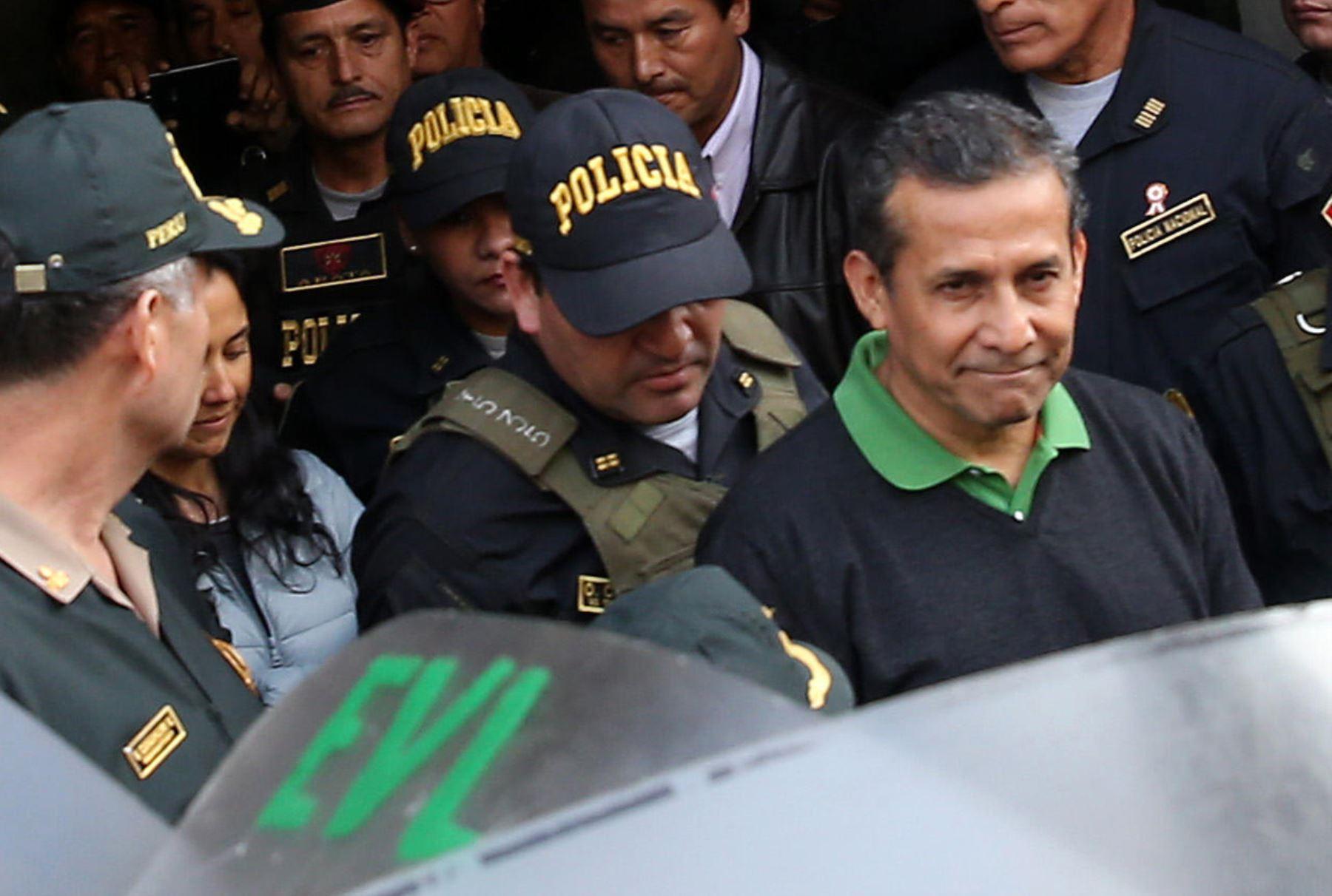 Ollanta critica decisión de pasar a ser investigado — Madre Mía