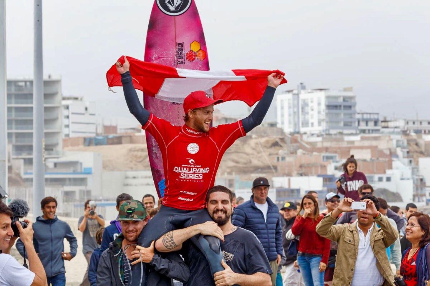 Miguel Tudela demostró su elevado nivel en la playa de San Bartolo
