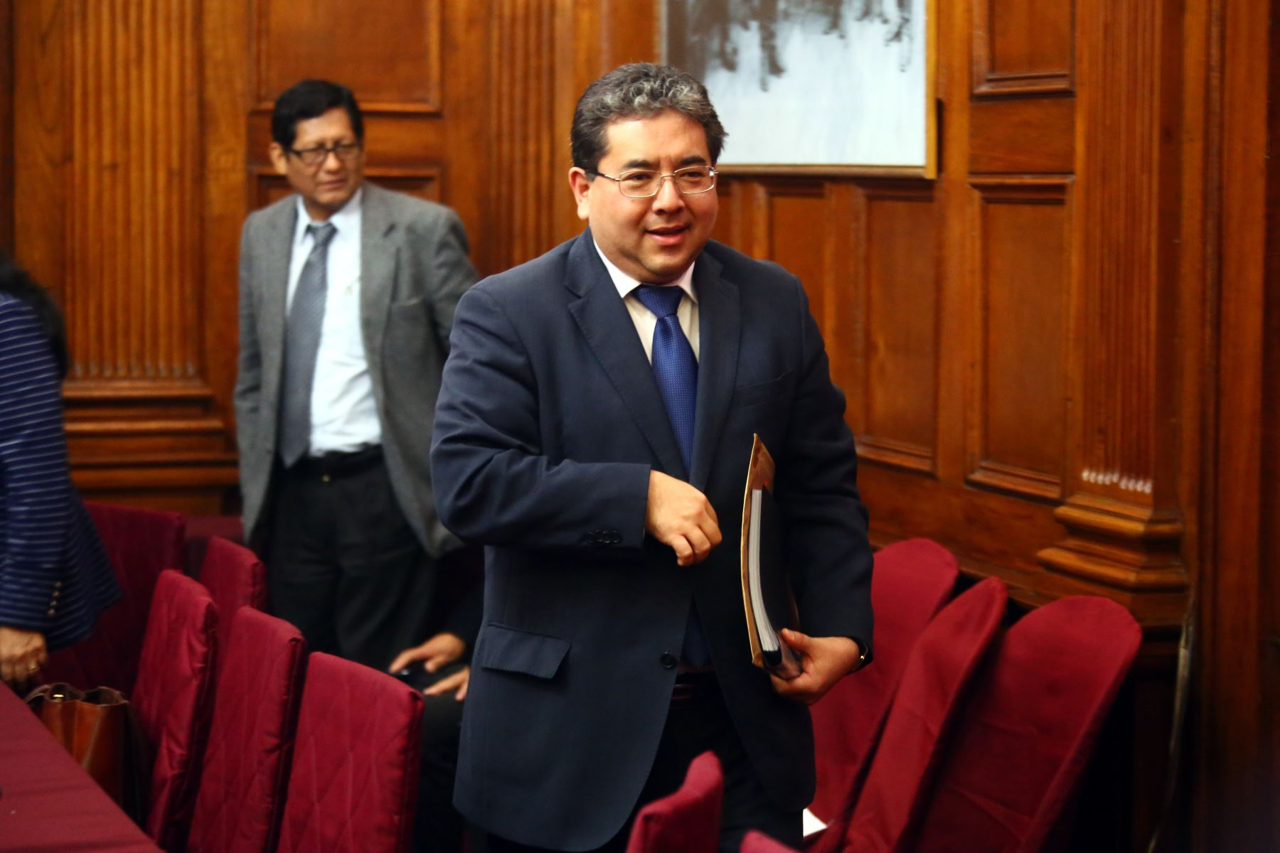 Nelson Shack, candidato a contralor general.