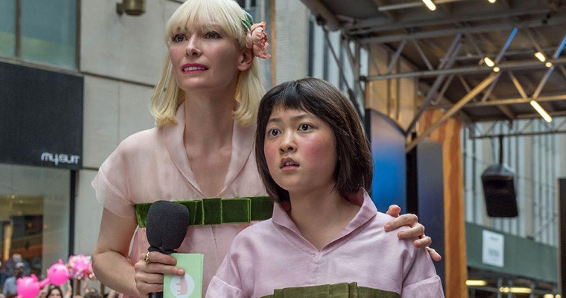 Escena de la película Okja que se ha estrenado en Netflix