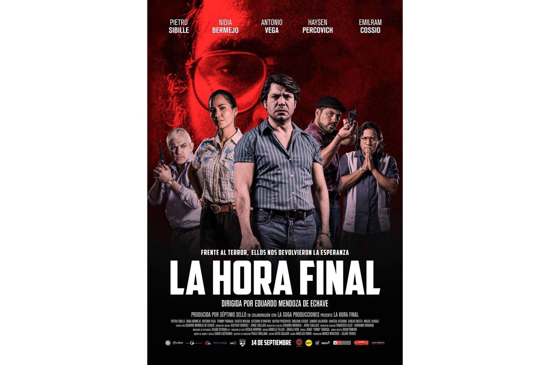 """Afiche de """"la Hora Final""""."""