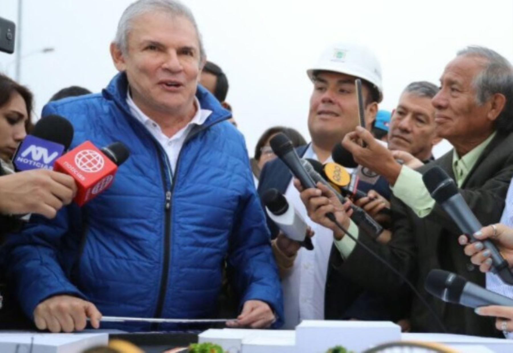 Alcalde de Lima declaró durante apertura de puente Bella Unión. Foto: MML