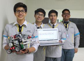 Estudiantes de Arequipa participarán en Mundial de Robótica en Japón. ANDINA/Difusión