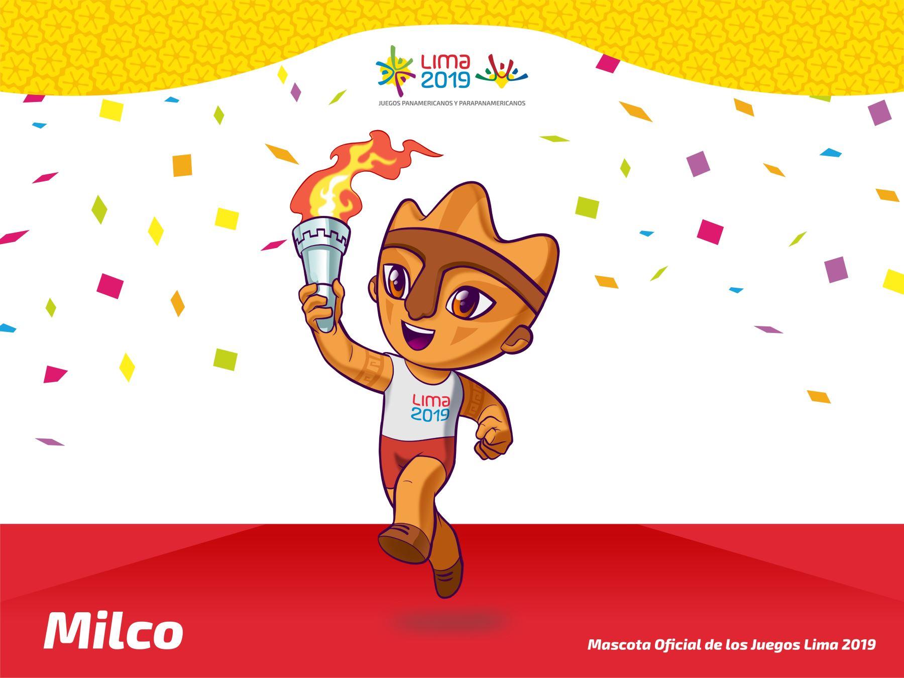 Milco fue el ganador en la elección de la mascota para los Juegos Panamericanos Lima 2019