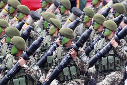 LIMA,PERÚ-JULIO 29. Gran Parada y Desfile Cívico-Militar por Fiestas Patrias. Foto: ANDINA/Jhony Laurente.