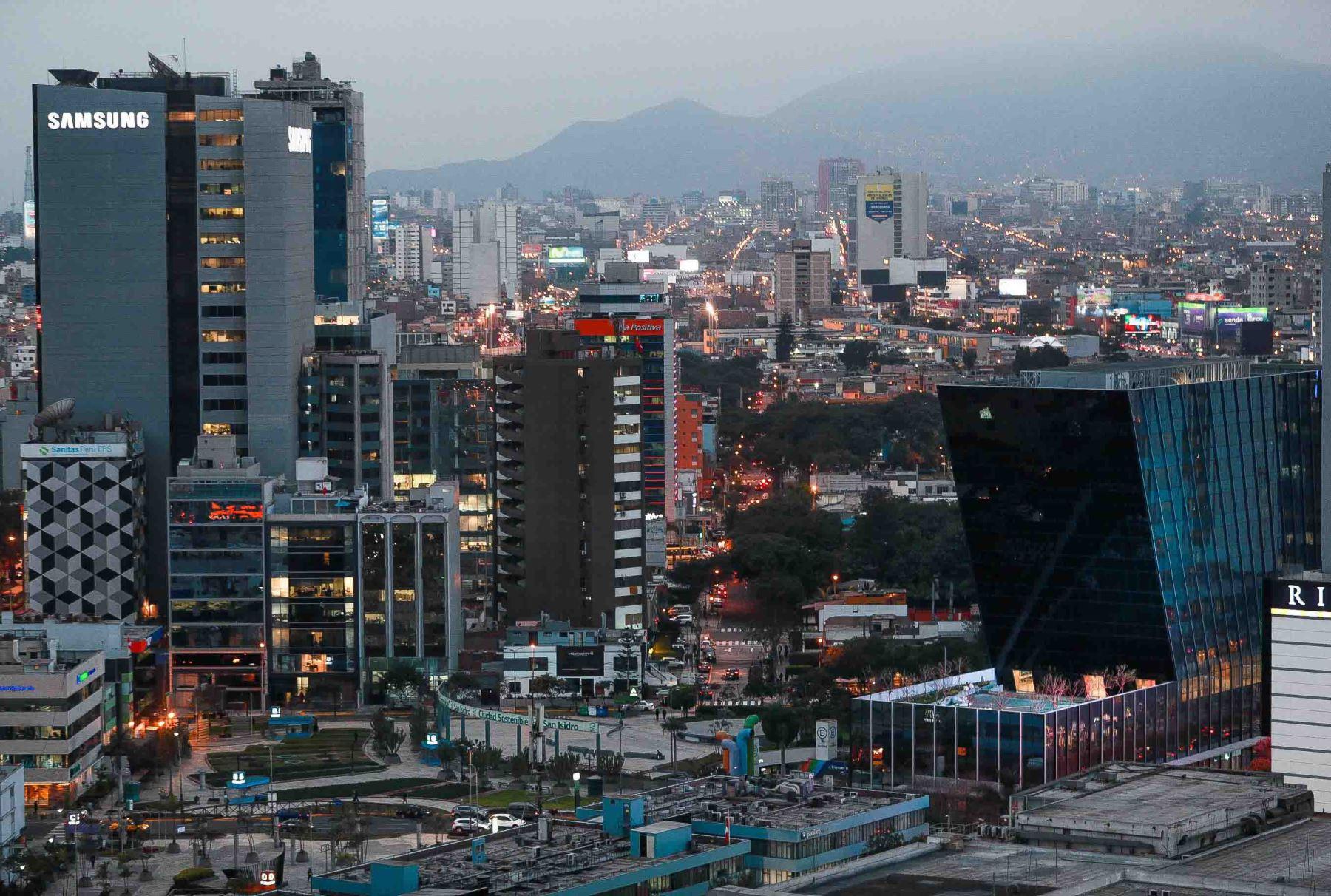 Economía peruana repuntará este año. ANDINA/Carlos Lezama