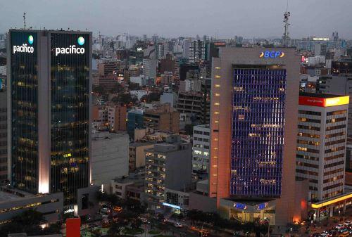 Centro Financiero. ANDINA/Difusión
