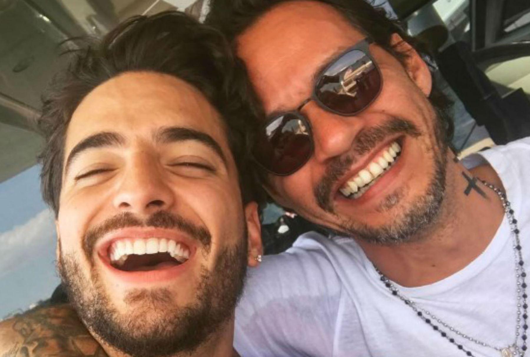Marc y Maluma.