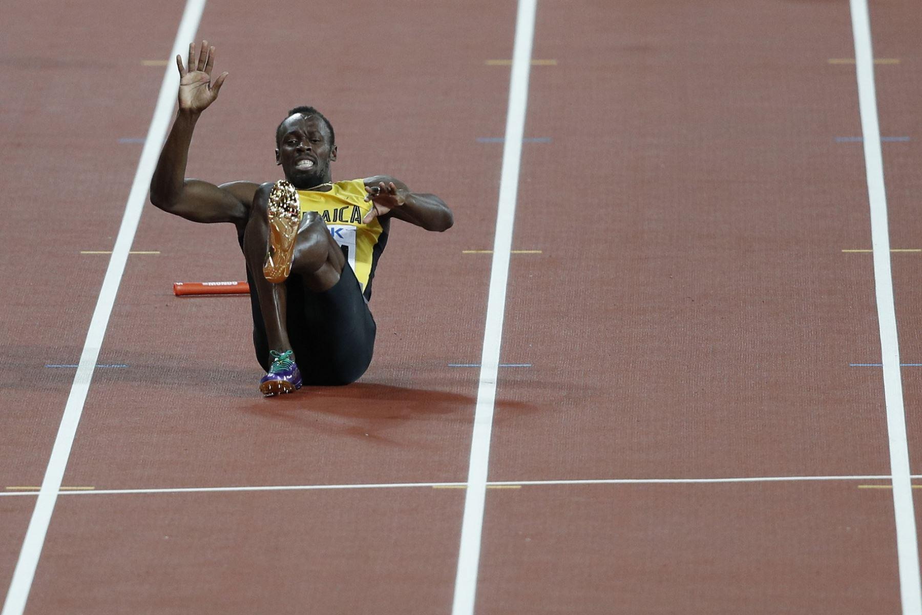 Usain Bolt se despidió del atletismo. AFP