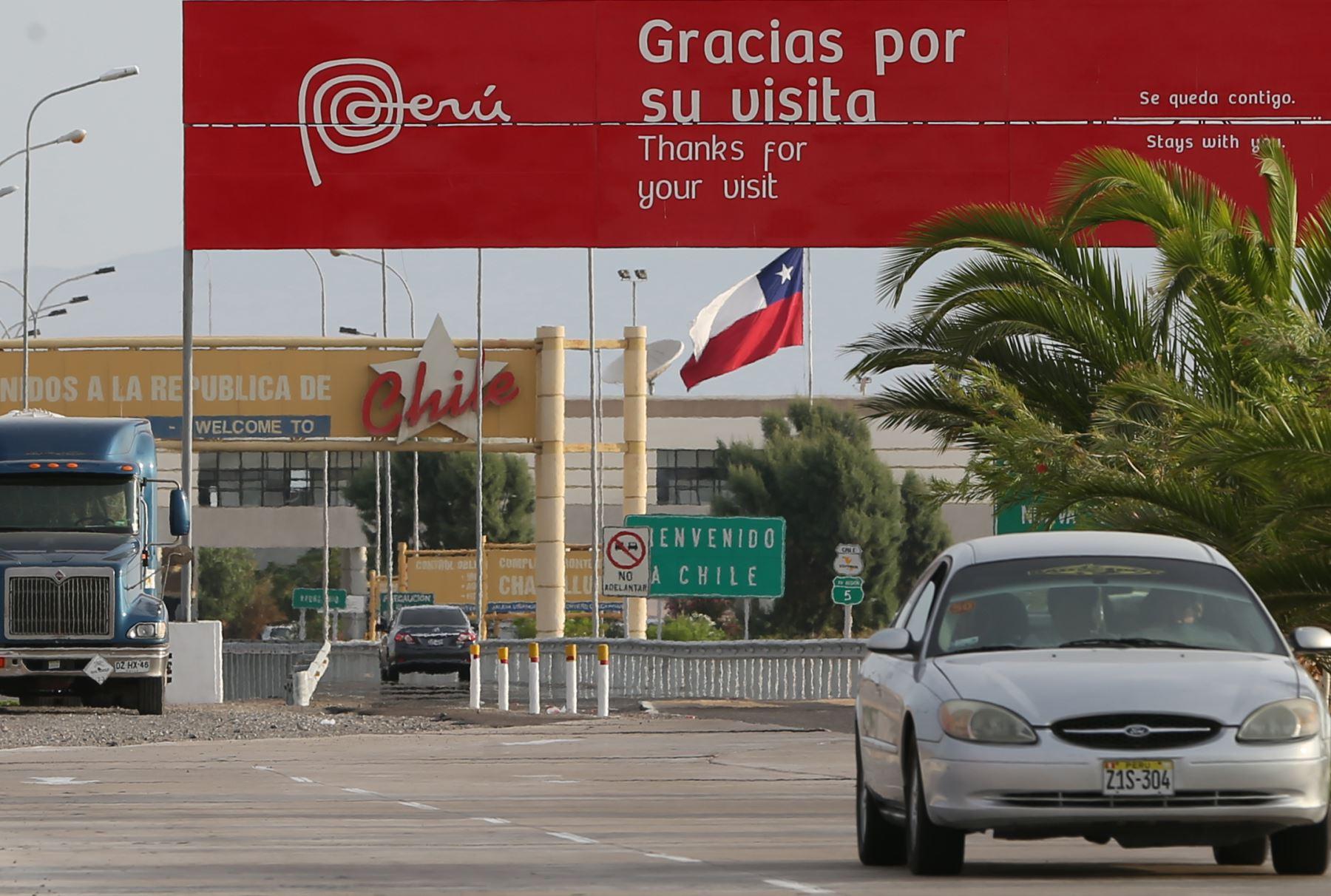 Frontera Perú Chile