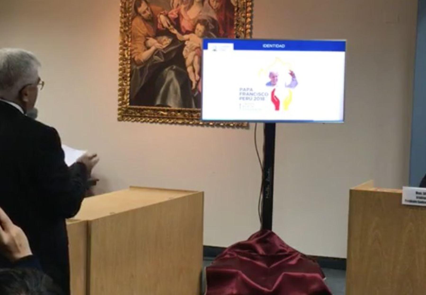 CEP presenta logo oficial de visita de Papa Francisco al Perú. Foto: ANDINA