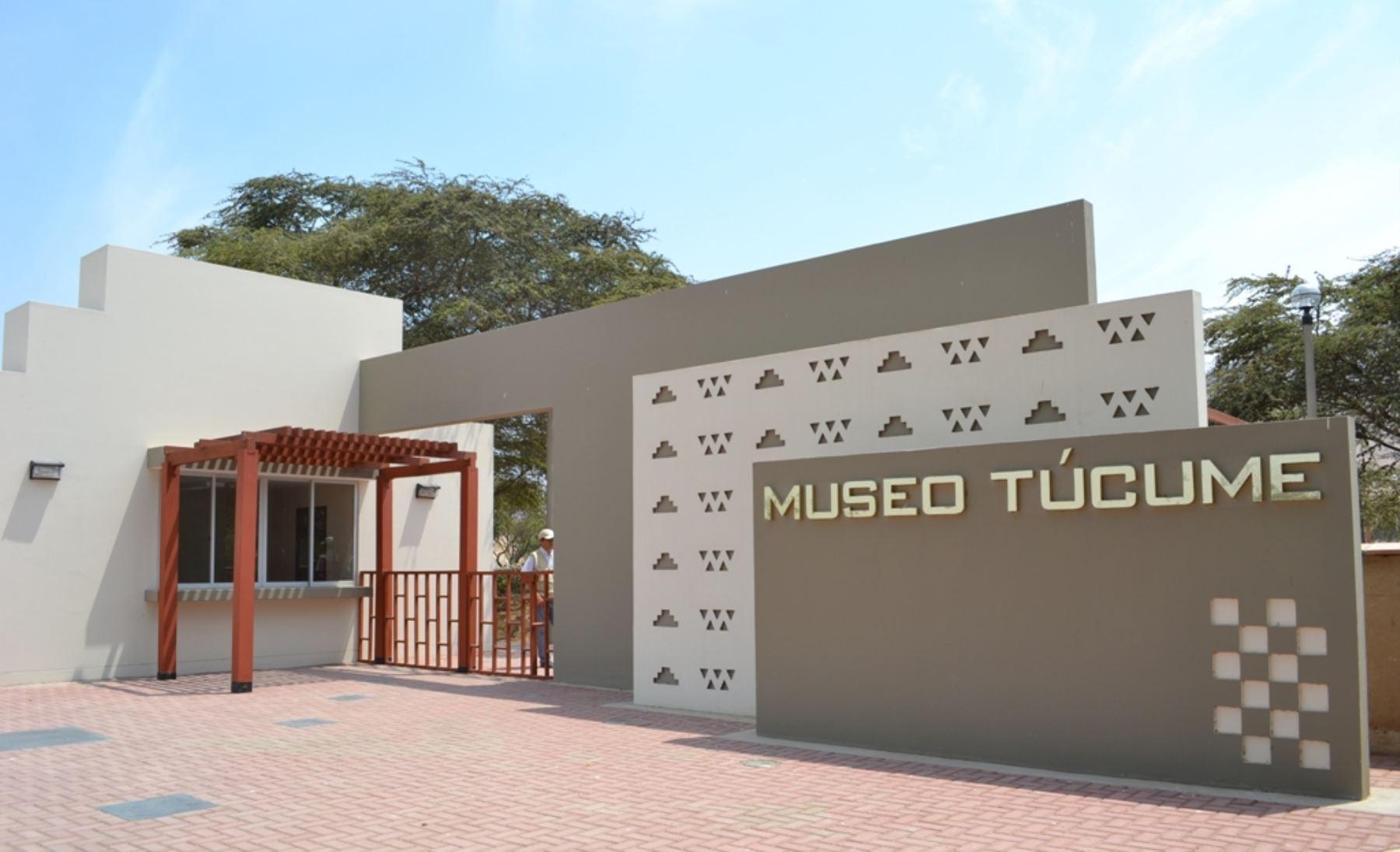Museo de sitio de Túcume celebra 25 años al servicio de la cultura en Lambayeque. ANDINA