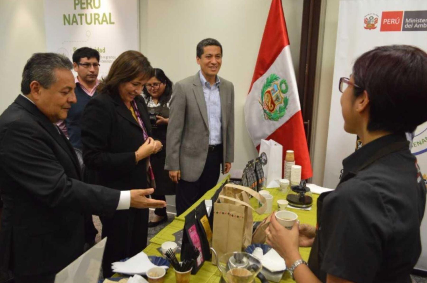 Ministerio del ambiente impulsa campa a cafetea per for Ministerio del interior donde queda