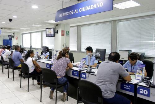 Servicio de Administración Tributaria de Lima (SAT). Foto: ANDINA/Difusión