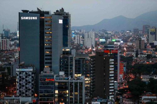 Centro financiero de Lima. Foto: ANDINA/Difusión