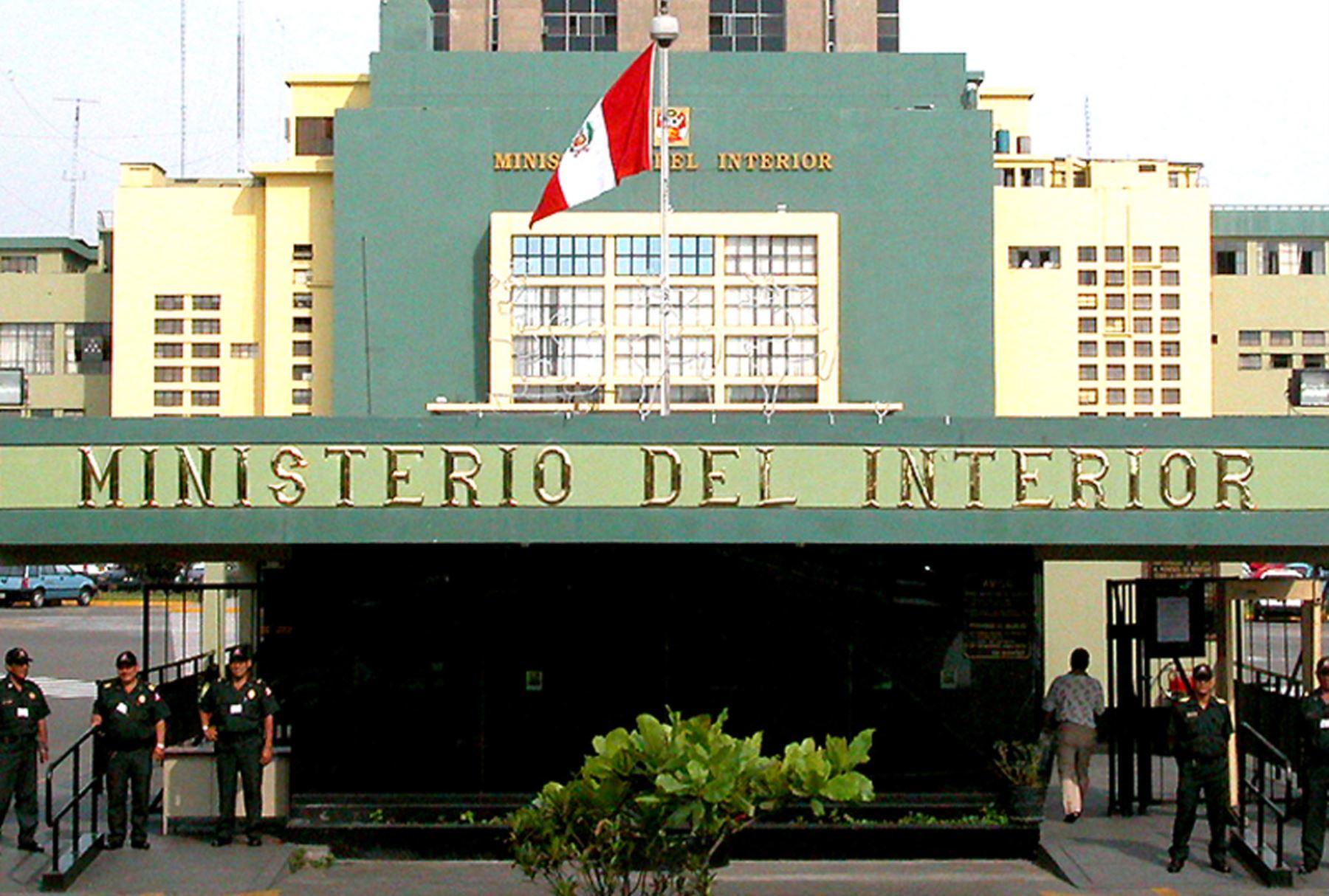 Ministerio del interior desmiente cambios en el comando de for Ministerio del interior peru