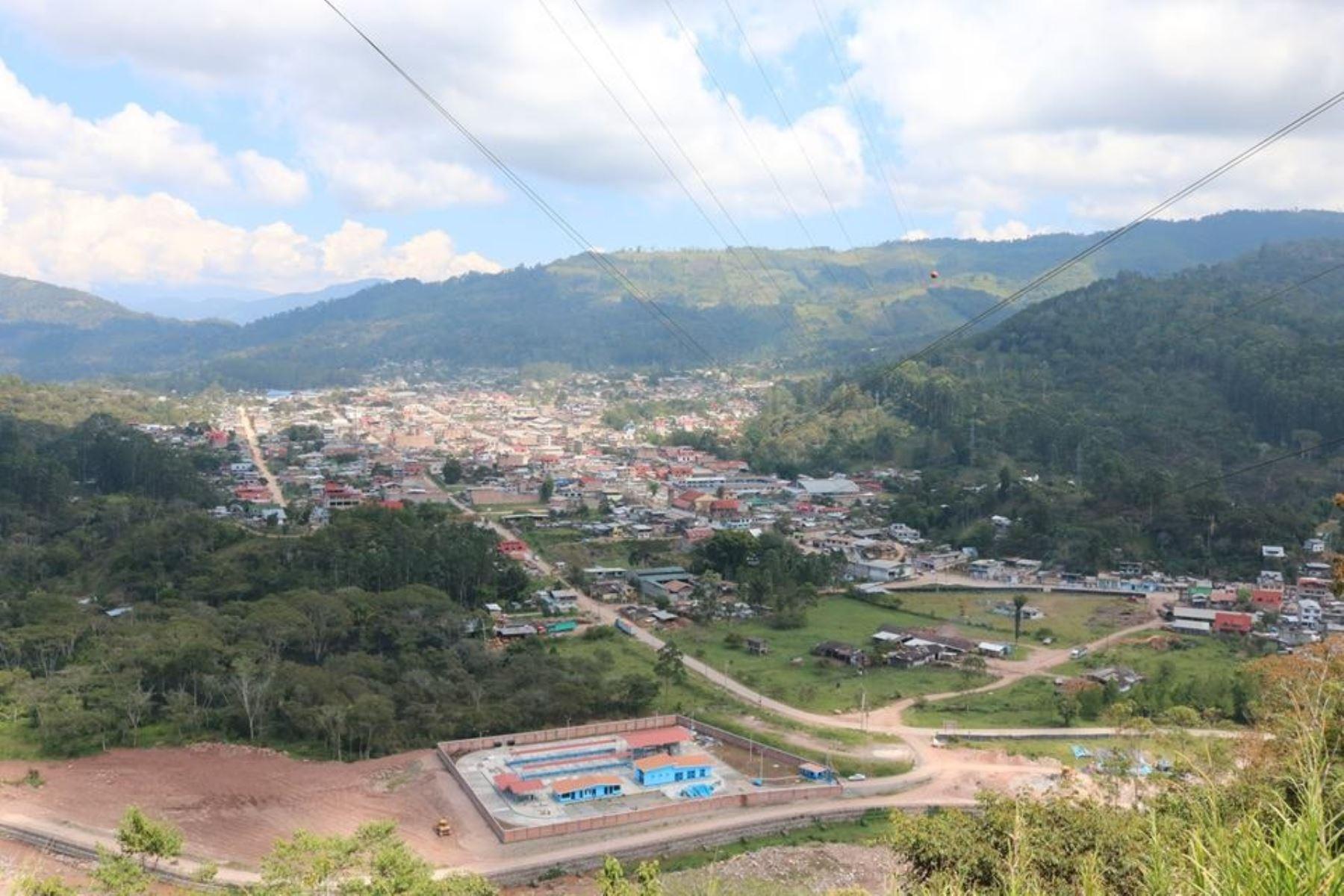 Villa Rica fue remecida por un sismo. ANDINA/Difusión