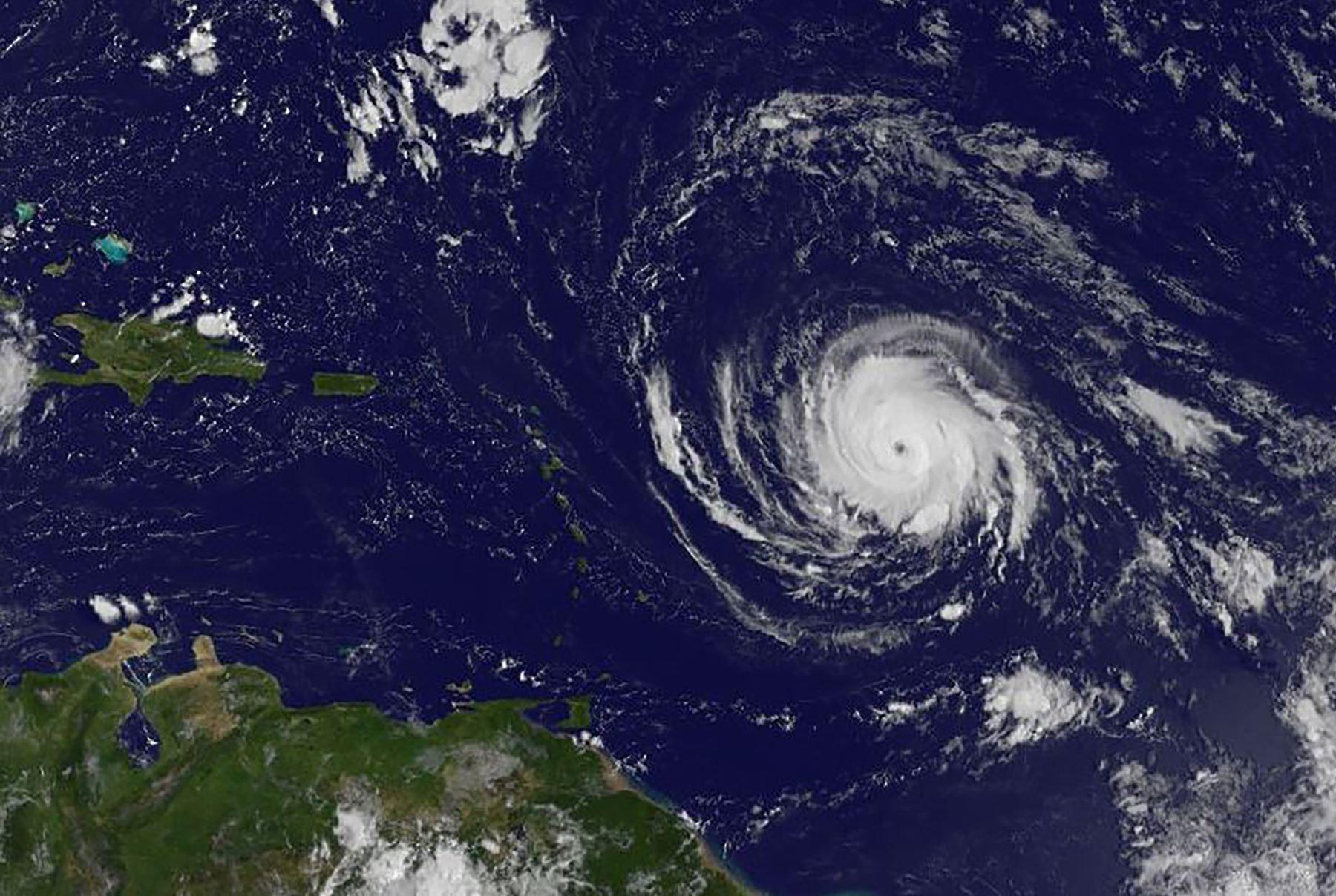 Huracán Irma. AFP