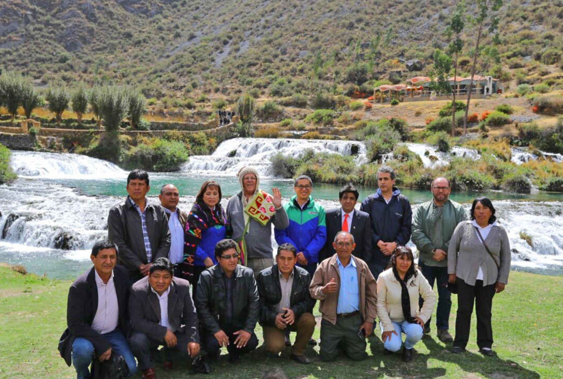 Presidente Pedro Pablo Kuczynski lanzó iniciativa que busca la conservación del agua.Foto:  ANDINA/Prensa Presidencia.